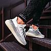 Мужские кроссовки adidas Yeezy Boost 350 V2 Topen (Адидас Изи Буст 350 Топен) рефлективные шнурки, фото 3