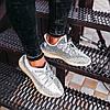 Мужские кроссовки adidas Yeezy Boost 350 V2 Topen (Адидас Изи Буст 350 Топен) рефлективные шнурки, фото 4