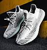 Женские кроссовки adidas Yeezy Boost 350 V2 Topen (Адидас Изи Буст 350 Топен) рефлективные шнурки, фото 3