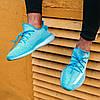 Женские кроссовки adidas Yeezy Boost 350 V2 Bluewater Адидас Изи Буст 350 голубые, фото 3