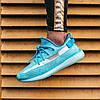 Женские кроссовки adidas Yeezy Boost 350 V2 Bluewater Адидас Изи Буст 350 голубые, фото 5