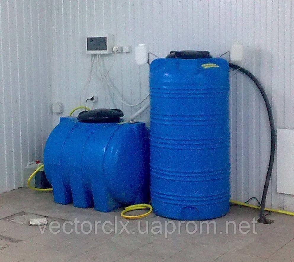 Станция очистки и рециркуляции воды для автомоек НЕПТУН-555,  220 литров\час