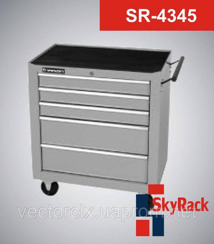 Тележка инструментальная  5 (пять) полок  SR-4345