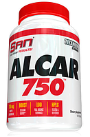 Ацетил-L-карнитин, San ALCAR 750, Acetyl-L-Carnitine, 100 Tablets, фото 1