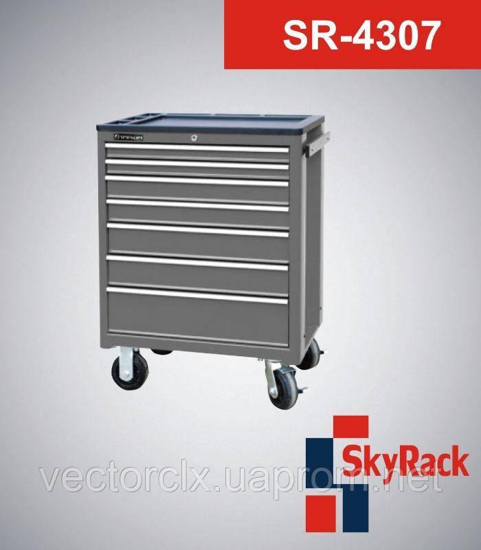Тележка инструментальная  SR-4307   (семь полок)
