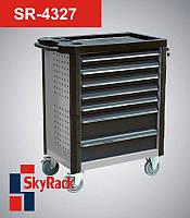 Тележка инструментальная7 (семь) полок SR-4327