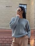 Женский базовый свитер свободного кроя (в расцветках), фото 5