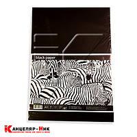 Набор бумаги черной А3, 10л, 120г/м ВР3110 Графика