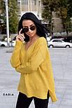 Женский стильный джемпер свободного кроя (в расцветках), фото 4