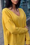 Женский стильный джемпер свободного кроя (в расцветках), фото 3