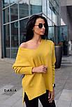Женский стильный джемпер свободного кроя (в расцветках), фото 5