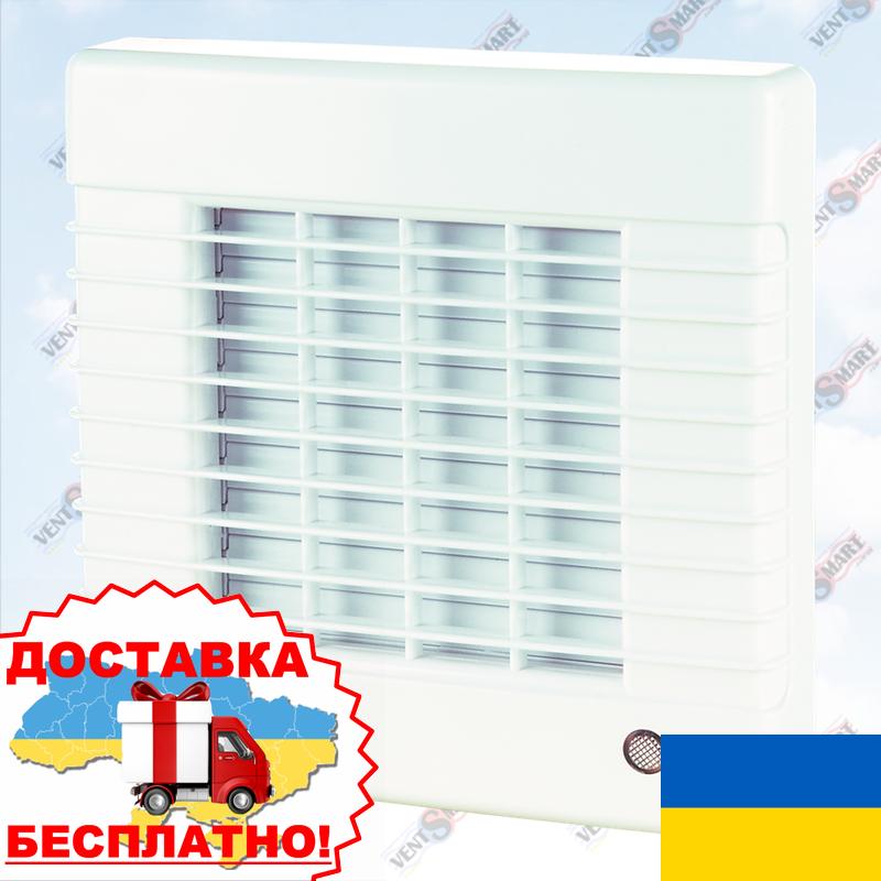 Вентилятор с автоматическими жалюзи ВЕНТС 150 МА (VENTS 150 MA)