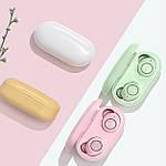 Беспроводные наушники блютуз гарнитура Bluetooth наушники 5.0 Wi-pods TW60. Розовые Оригинал, фото 5