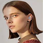 Бездротові навушники блютуз гарнітура Wi-pods TW60 Pro Bluetooth 5.0. Рожеві Оригінал, фото 4
