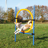Тrixie Agility Ring барьер-шина для аджилити 115 х 65см