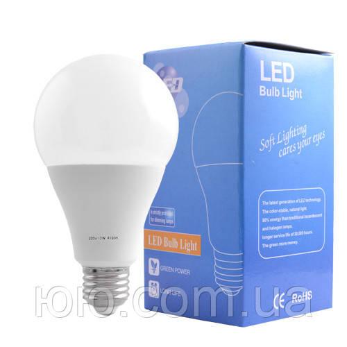 Лампа светодиодная A80 Е27 12W 4100K - 10