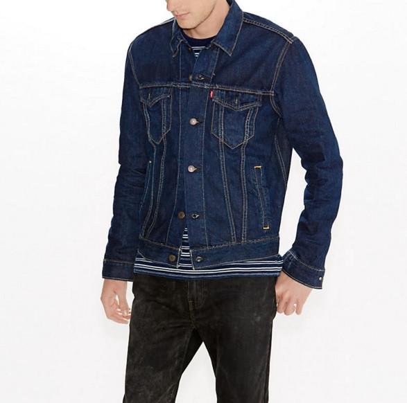 Джинсовая куртка Levis Trucker - Conifer (XL)