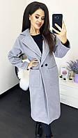 Женское модное пальто  ММ337, фото 1