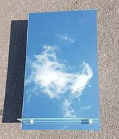 Зеркало прямоугольное с полочкой для ванной комнаты 68х40 см
