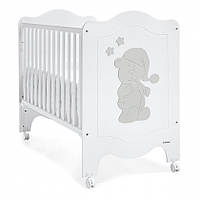 Кроватка Trama Sleepy Bear White/Silver