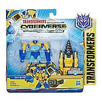 Набор Transformers Cyberverse Спарк броня Скайбайт, E4297/E4219