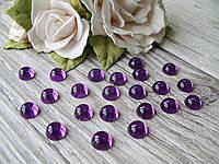 """""""Капелька росы"""" клеевой декор, 10 мм, цвет фиолетовый, цена 13 грн - 50 шт"""