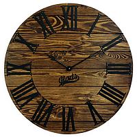 """Настенные Часы дерево-металл """"Kansas Mokko"""" 60см немецкий механизм"""