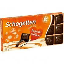 Шоколад Schogetten Peanut&Caramel  Германия, 100г