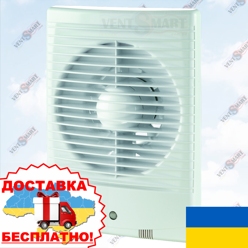 Настенный вентилятор для ванной ВЕНТС 125 М3 (VENTS 125 M3)