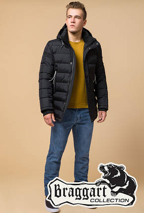 Теплая мужская зимняя куртка (р. 46-56) арт. 37533U, фото 2