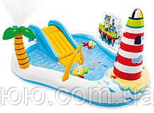 Надувной Водный Игровой Центр Веселая Рыбалка Intex 57162