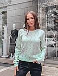 Женский стильный джемпер с жемчугом (в расцветках), фото 6