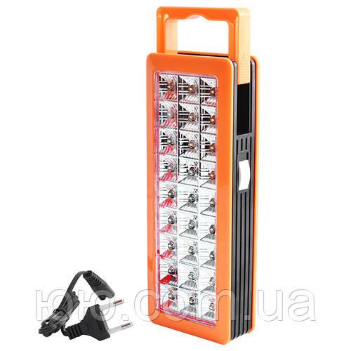 Лампа фонарь Светодиоидная панель с аккумулятором YJ6818 (27LED диодов)