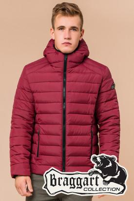 Бордовая мужская зимняя куртка Braggart (р. 46-56) 40962S