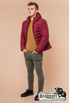 Бордовая мужская зимняя куртка Braggart (р. 46-56) 40962S, фото 2