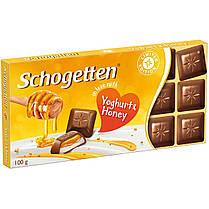 Шоколад Schogetten Yoghurt&Honey  Германия, 100г