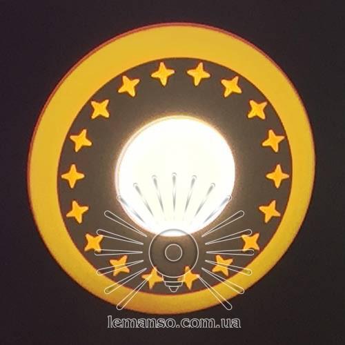 "LED панель Lemanso ""Звезды"" 6+3W с жёлтой подсветкой 540Lm 4500K 175-265V / LM540"