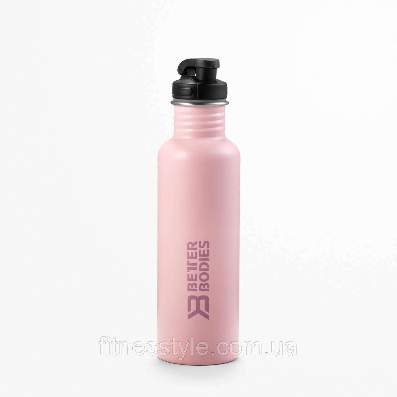 Пляшка для води Better Bodies Fulton bottle, Pale Pink