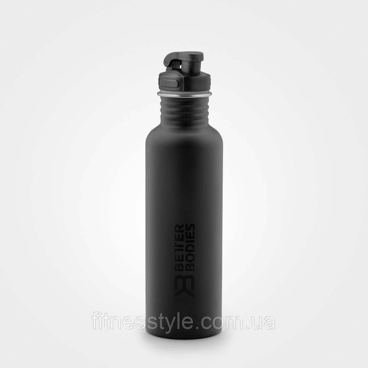 Бутылка для воды Better Bodies Fulton bottle, Black