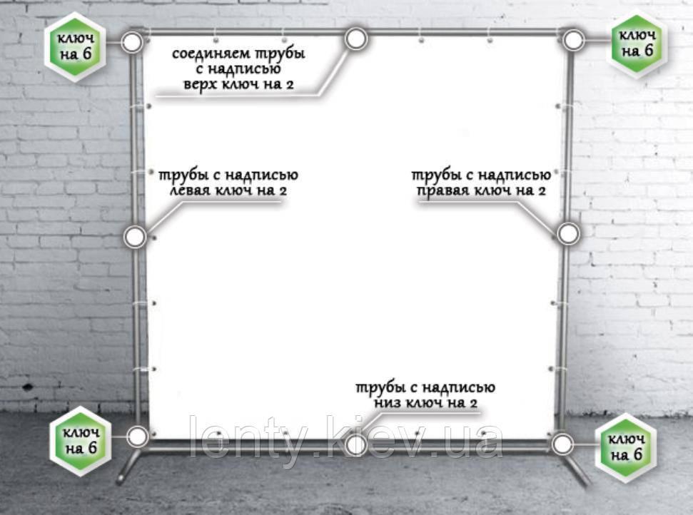 Продажа Каркаса для Баннера 2х3м-