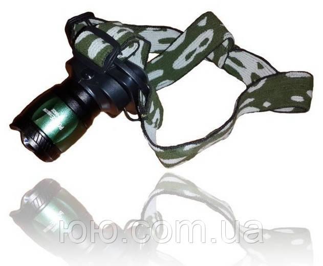 Налобный фонарь POLICE BL-6802 30000W