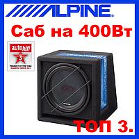 Сабвуфер ALPINE SBG-844BR(пассивный,400 /120Вт)