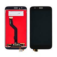 Дисплей для HUAWEI G8 (RIO-L01) с чёрным тачскрином