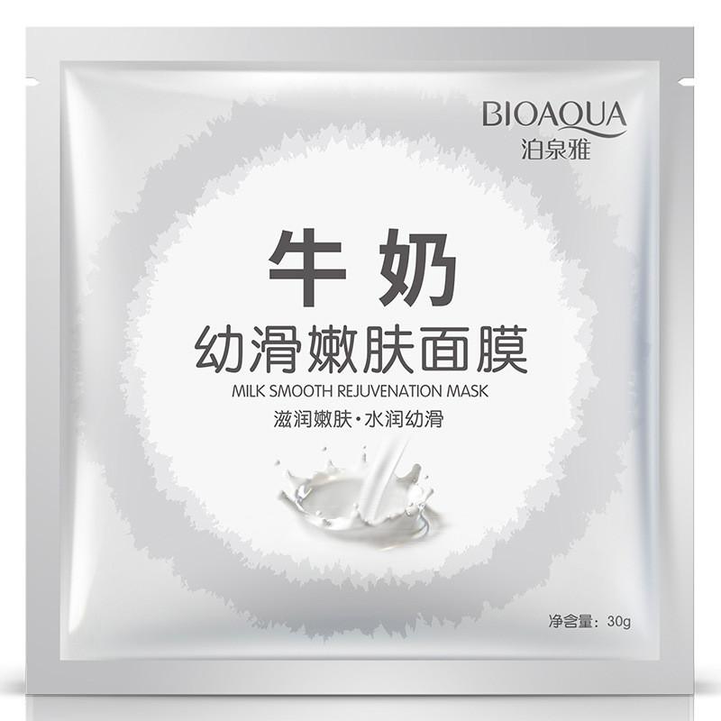 Маска с экстрактом молока Bioaqua Milk Smooth Rejuvenation Mask (30г)