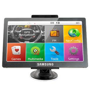 GPS-навигатор SAMSUNG GT-719 для грузовиков Черный (hub_Ngen32084)