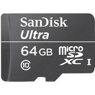 SanDisk microSDXC class 10 UHS-I Ultra 64Gb