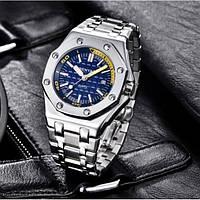 Мужские часы Hemsut BigBen на стальном браслете