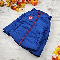 Детская куртка оптом (4 шт) на синтепоне демисезон осень, 116-134