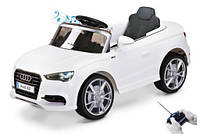 Детский електромобиль AUDI A3 LICENCJA 2 SIL белый