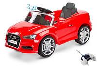 Детский електромобиль AUDI A3 LICENCJA 2 SIL красный